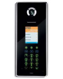 2VOICE-Torstelle mit digitalem Namensregister - ELEKTA GLASS