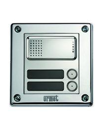 Sinthesi Steel 2VOICE Audiotorstelle mit 2 Ruftasten