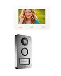 2-Draht Video-Zweifamilienset inklusive Bildspeicher und YOKIS-Integration