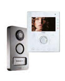 Einfamilien Videotorsprechset 2VOICE COLOR AIKO mit MIKRA-Torstelle