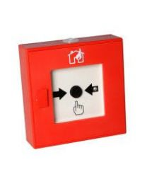 Handfeuermelder adressierbar  Rot