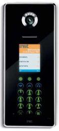 IP-Torstelle Elekta Glass mit elektronischem Namensvereichnis und Zutrittskontrolle