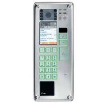 IP-Torstelle Elekta Steel mit elektronischem Namensverzeichnis und Zutrittskontrolle