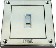 Fingerprintleser ekey eingebaut in Sinthesi Steel-Modul, ohne Steuereinheit