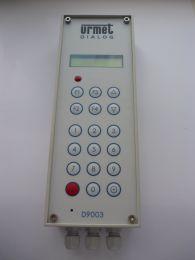 Industriesprechstelle Display ohne  Lautsprecher