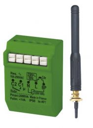 Funk-Stromstoßrelais 2000W UP mit externer Antenne